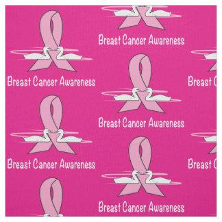 希望の乳癌の白鳥 ファブリック