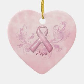 希望の乳癌の認識度のオーナメント セラミックオーナメント