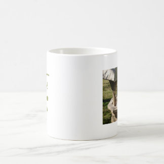 希望の井戸のラサApso コーヒーマグカップ