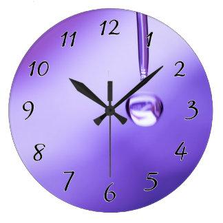 希望の低下 ラージ壁時計