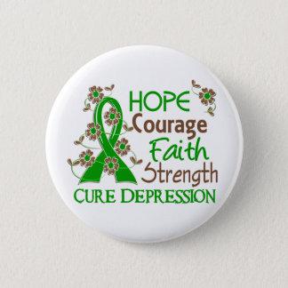 希望の勇気の信頼の強さ3の不況 缶バッジ