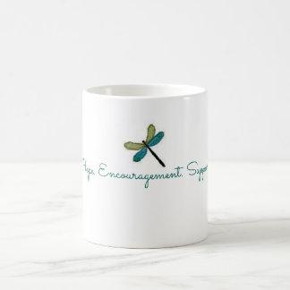 希望の勇気付けられるサポートマグ コーヒーマグカップ
