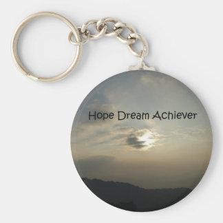 希望の夢は達成します キーホルダー