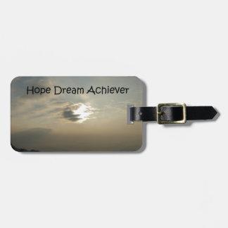 希望の夢は達成します ラゲッジタグ