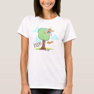 希望の木の平和 Tシャツ