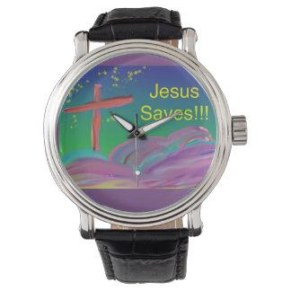 希望の治療教会イエス・キリストはキリスト教の腕時計を救います 腕時計