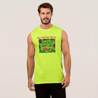 希望の治療教会イエス・キリストはキリスト教のTシャツを救います 袖なしシャツ