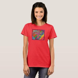 希望の治療教会イエス・キリストはレディースTシャツを救います Tシャツ