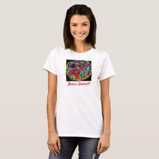 希望の治療教会イエス・キリストは女性のTシャツを救います Tシャツ