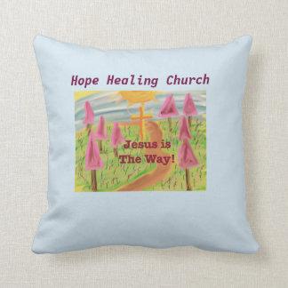 希望の治療教会イエス・キリスト方法装飾用クッション クッション