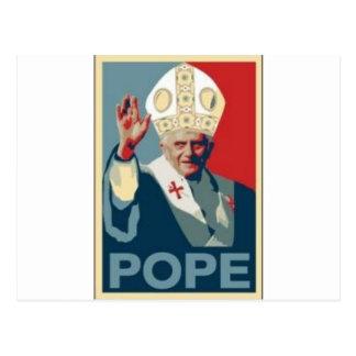 希望の法皇 ポストカード