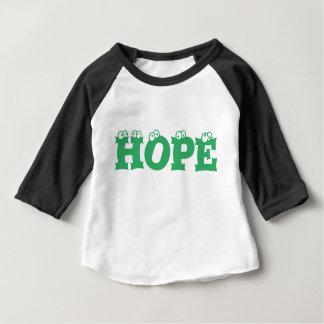 希望の男の子の幼児のワイシャツ3/4 ベビーTシャツ