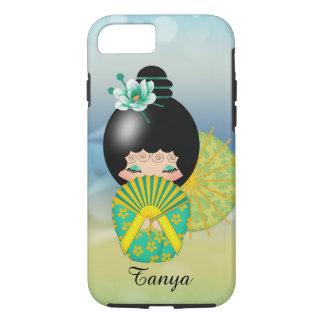 希望のKokeshiの人形のiPhone 7カバー iPhone 8/7ケース