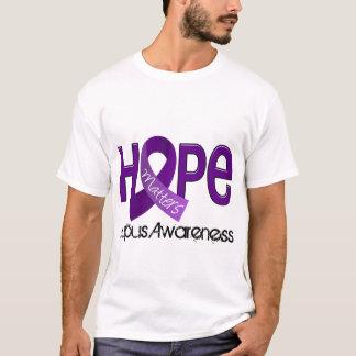 希望はループス2重要です Tシャツ