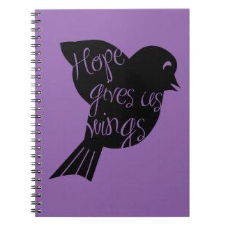希望は私達に翼2を与えます ノートブック