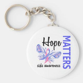 希望は蝶SIDS重要です キーホルダー