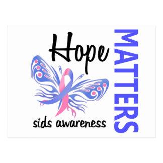 希望は蝶SIDS重要です ポストカード