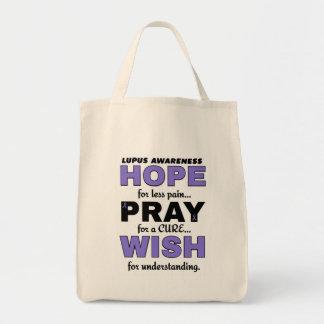 希望は願いの…ループスを祈ります トートバッグ