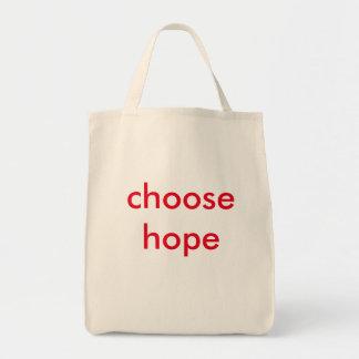 希望を選んで下さい トートバッグ