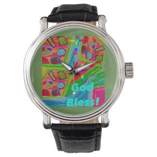 希望治療教会神はキリスト教の腕時計を賛美します 腕時計
