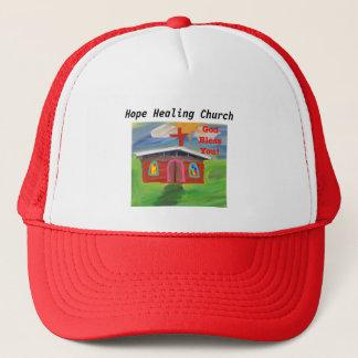 希望治療教会神はトラック運転手の帽子賛美します キャップ