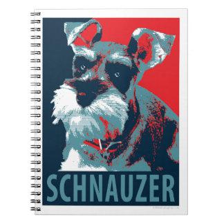 希望犬によるシュナウツァー ノートブック