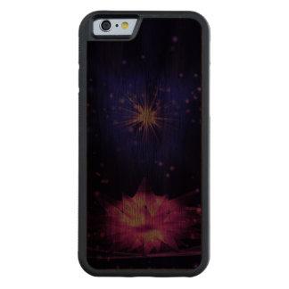 希望2の破烈 CarvedウォルナッツiPhone 6バンパーケース