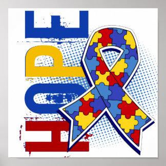 希望2の自閉症 ポスター
