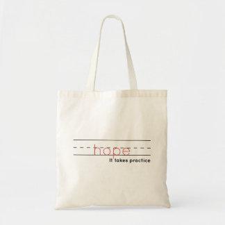 希望|の練習 トートバッグ