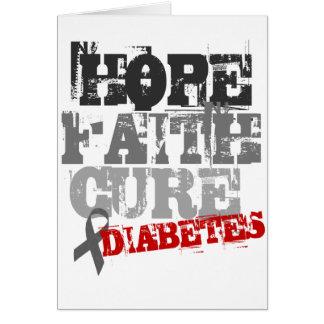 希望。 信頼。 治療。 糖尿病 カード