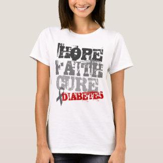 希望。 信頼。 治療。 糖尿病 Tシャツ