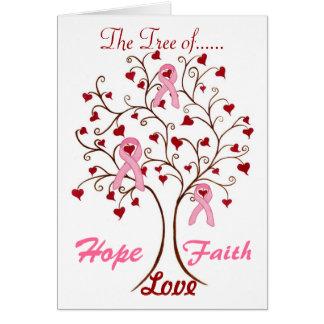 希望、愛及び信頼-カードの木 カード