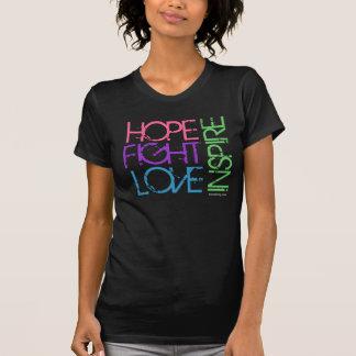 希望、戦い、愛は、インスパイア Tシャツ