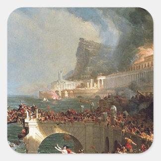 帝国のコース: トマスのColeによる破壊 スクエアシール