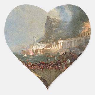 帝国のコース: トマスのColeによる破壊 ハートシール