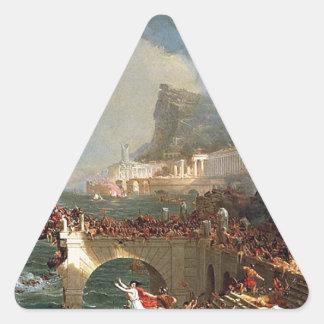 帝国のコース: トマスのColeによる破壊 三角形シール