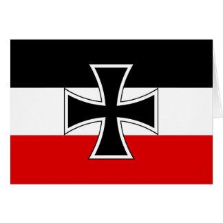 帝国ドイツの旗 カード