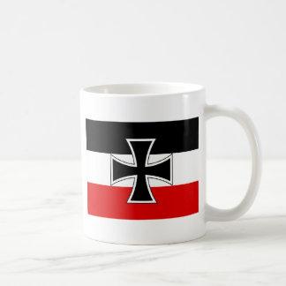 帝国ドイツの旗 コーヒーマグカップ