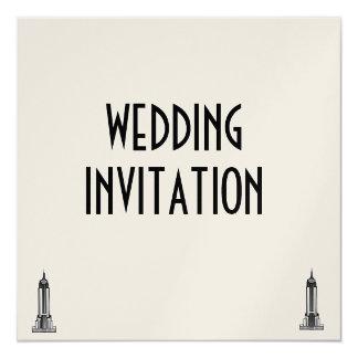 帝国国家、結婚式招待状 カード