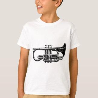 帝国真鍮のコルネット-楽器 Tシャツ