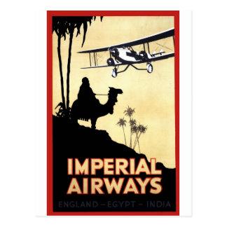 帝国航空路 ポストカード