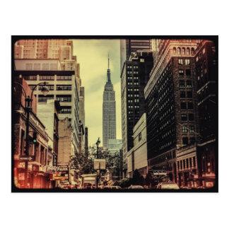 帝国通りの眺め ポストカード