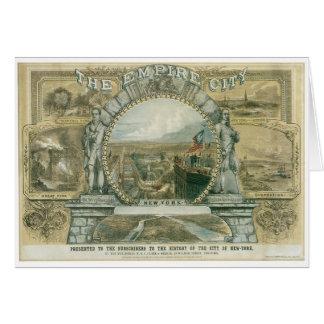 帝国都市、ニューヨーク カード