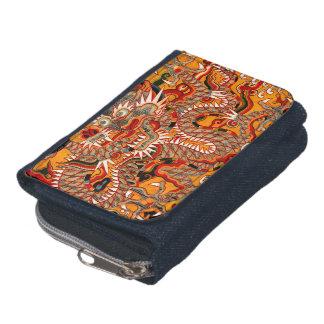 帝国Mingの中国のなドラゴンのグラフィックの財布