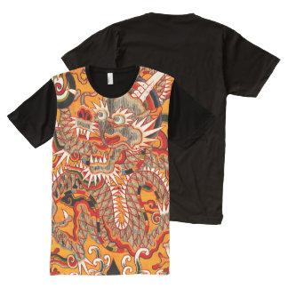 帝国Mingの中国のなドラゴンのグラフィックのTシャツ オールオーバープリントT シャツ