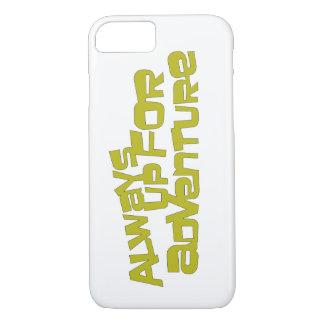 常に冒険のiPhoneのオオムギのためにそこに包装します iPhone 8/7ケース