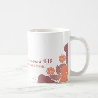 常に存在する助け コーヒーマグカップ