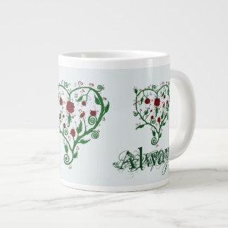 常に愛 ジャンボコーヒーマグカップ
