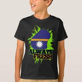 常に新しいナウル Tシャツ