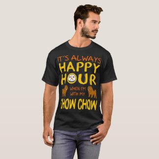 常に楽しい時間私のチャウチャウ犬のワイシャツと Tシャツ